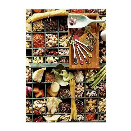 SCHMIDT AND SPIELE Puzzle adulte - Pot-pourri de cuisine - 1000 pcs
