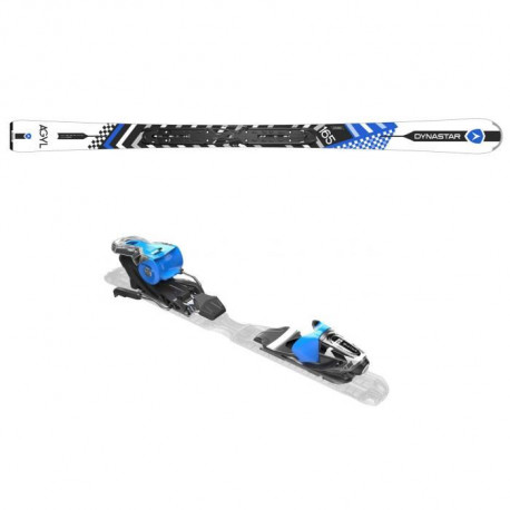DYNASTAR Skis Agyl Xpress + Fixations Xpress 11