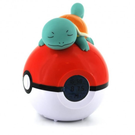 POKEMON Radio-Réveil Lampe LED Squirtle