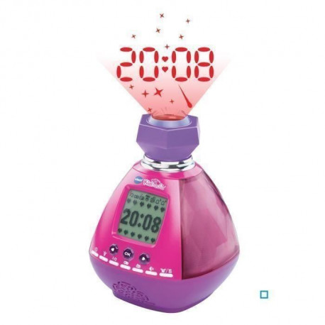 VTECH - Kidimagic Color Show Rose - Réveil Enfant