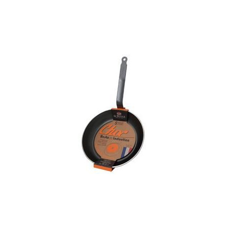 DE BUYER Poele ronde choc induction - ø 24 cm