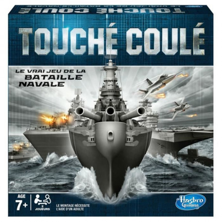HASBRO GAMING - Touché Coulé