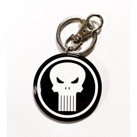 Porte-clés Marvel Logo Punisher
