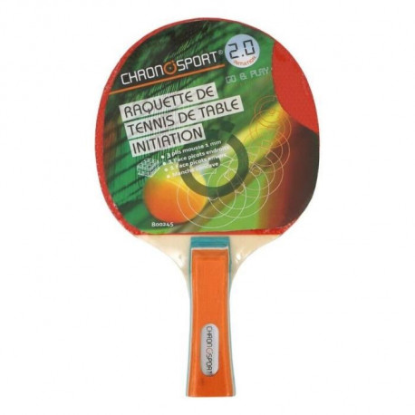 CHRONOSPORT Raquette Tennis de Table Initiation+