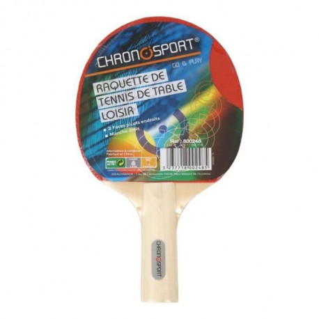CHRONOSPORT Raquette Tennis de Table Loisirs
