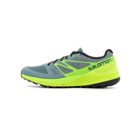 SALOMON Chaussures de running Sense Escape - Homme - Rouge et orange