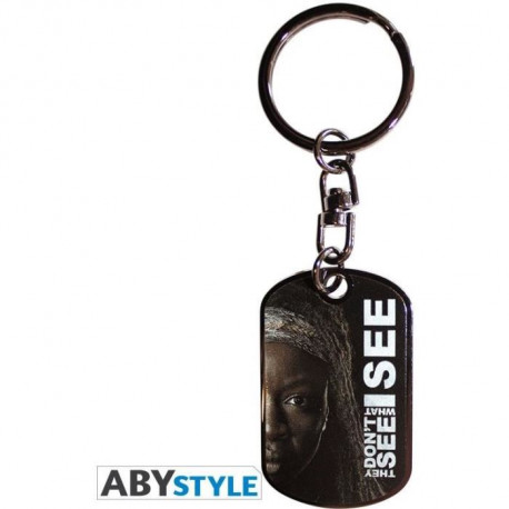 Porte-clés The Walking Dead : Michonne