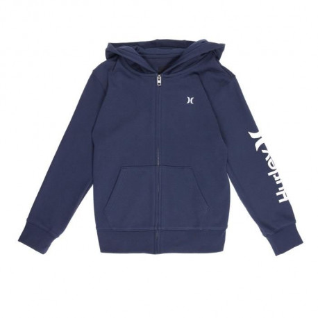 HURLEY Sweat a Capuche Hoodie One And Only - Enfant Mixte - Bleu
