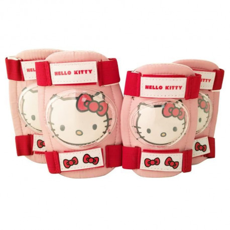 Protections Coudieres + Genouilleres Hello Kitty