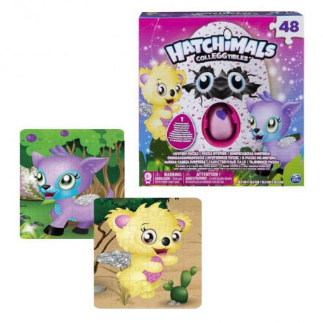 HATCHIMAL Puzzle 46 Pieces Avec Fig Exclue Spinmaster