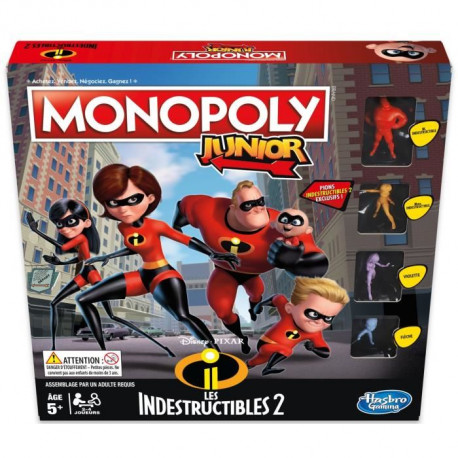 MONOPOLY JUNIOR - Indestructibles 2