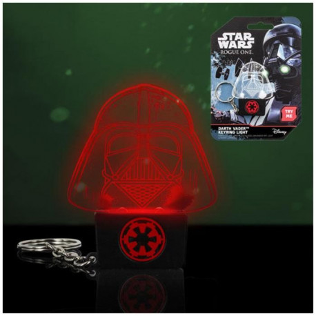 Porte-clés lumineux rouge Star Wars Rogue One: Dark Vador