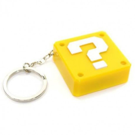 Porte-clef Lumineux Nintendo : Question Block