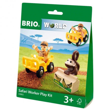 BRIO World  - 33865 - Pochette Decouverte Safari