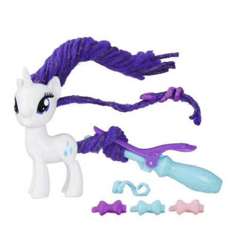 MY LITTLE PONY - RARITY Coiffure Tendance - Figurine 8cm