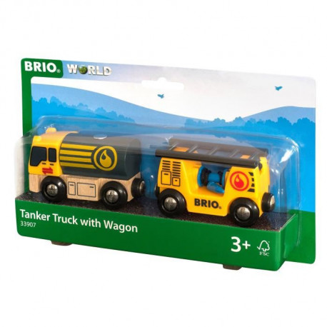 BRIO World  - 33907 - Camion Citerne