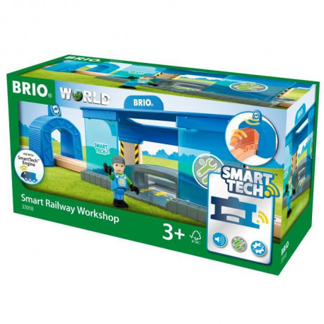 BRIO World  - Smart Tech - 33918 - Atelier De Reparation Intelligent