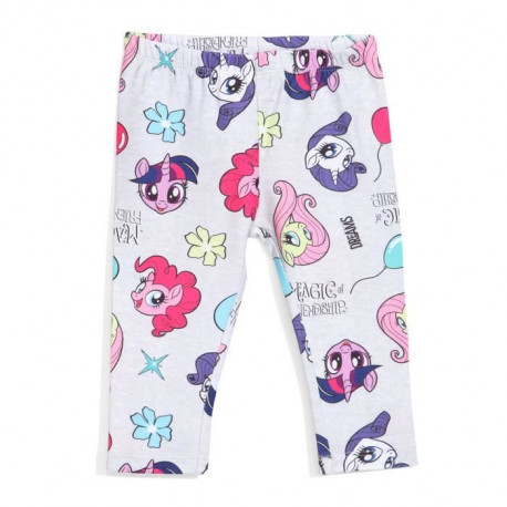 MON PETIT PONEY Legging Gris Enfant Fille Sérigraphie All Over