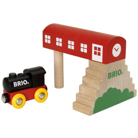 BRIO - 33615 - Gare Tradition Et Locomotive