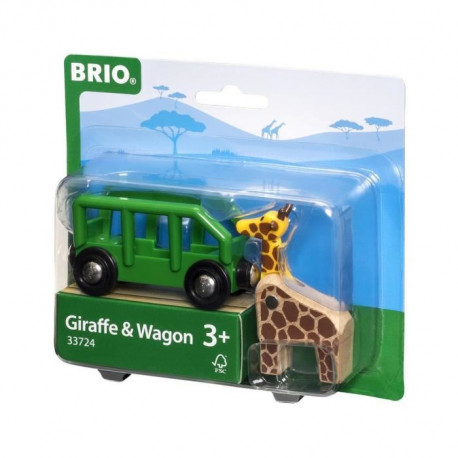 BRIO World  - 33724 - Wagon Girafe