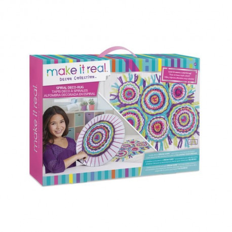 MAKE IT REAL - Tapis Déco A Spirales