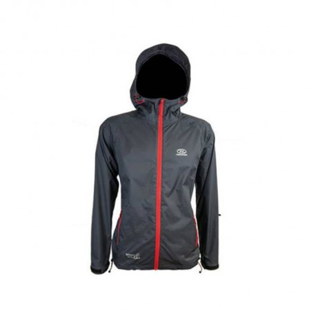 HIGHLANDER Veste Coupe-Vent Stow & Go Compactable Anthracite