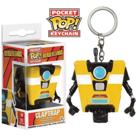 Porte-clé Funko Pocket Pop! Borderlands : ClapTrap