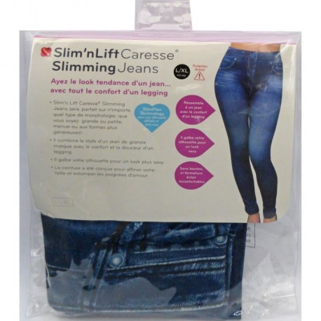 Jean leggings Slimming Jeans - Bleu - S-M