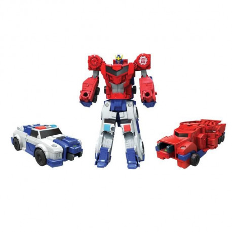 TRANSFORMERS Robots in Disguise - OPTIMUS PRIME et STRONGARM - Combiner Force - Figurine 7,5cm
