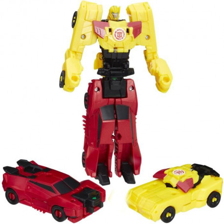 TRANSFORMERS Robots in Disguise - BUMBLEBLEE et SIDESWIPE - Combiner Force - Figurine 7,5cm