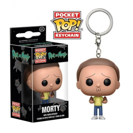 Porte-clé Funko Pocket Pop! Rick & Morty : Morty