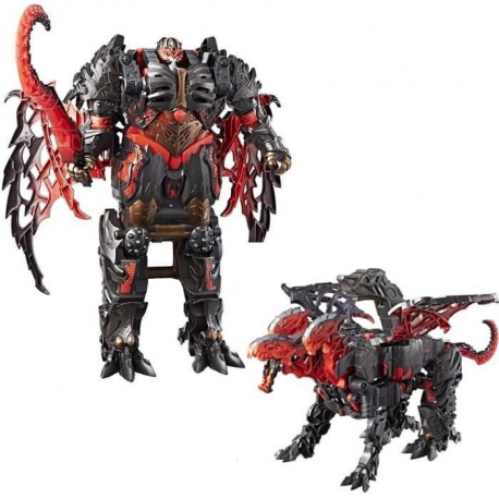 TRANSFORMERS The Last Knight - DRAGONSTORM Turbo Changers - Figurine 10cm