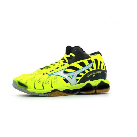 MIZUNO Chaussures de Handball / Volley Wave Tornado X Mid