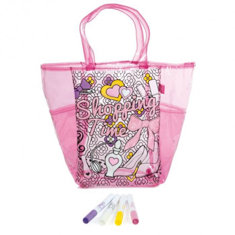 COLOR ME MINE Gloss & Glam Sac Mode a colorier