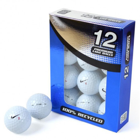 SECOND CHANCE Lot de 12 Balles de Golf Nike 20 XI Premium - Blanc