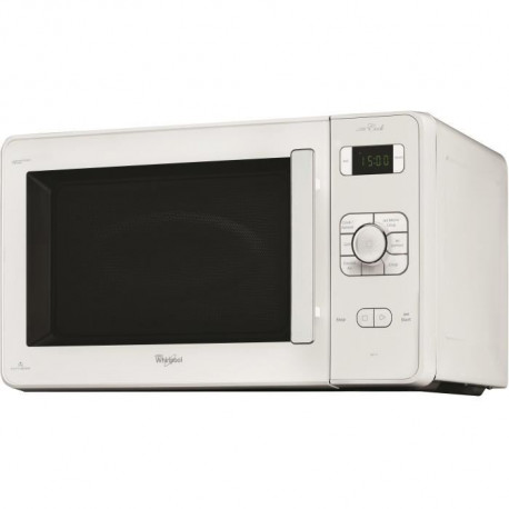 WHIRLPOOL C218WH-Micro ondes combiné blanc-30 L-1000 W-Grill 1000 W-Chaleur pulsée 1300 W-Pose libre