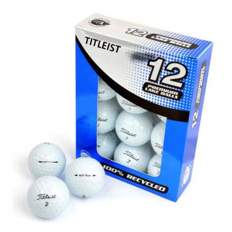 SECOND CHANCE Lot de 12 Balles de Golf Titleist NXT TOUR - Blanc