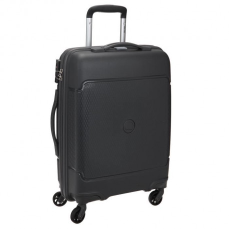 VISA DELSEY Valise Cabine Low Cost Rigide Polypropylene 4 Roues 55cm SEJOUR Anthracite