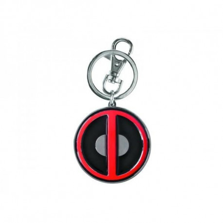 Porte Clé Logo Deadpool Coloré Metallique