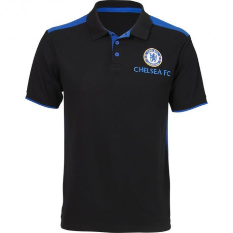 Polo de football CHELSEA - Réplique - Noir