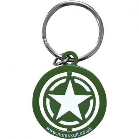 Porte-clé Call of Duty : Freedom Star Spinner - Vert