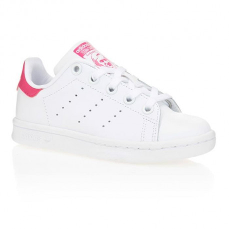 ADIDAS ORIGINALS Baskets Stan Smith Enfant Fille Blanc