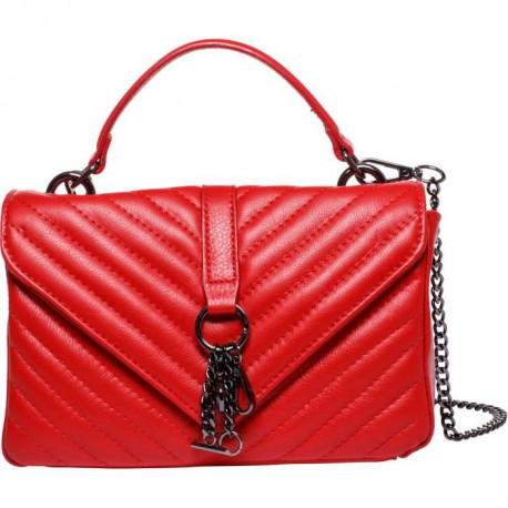 MAIA PARIS - HELIOS Sac a main rouge