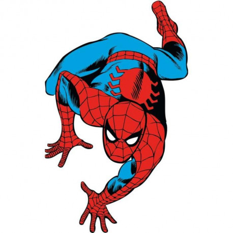 ROOMMATES Stickers MARVEL CLASSIC SPIDERMAN repositionnables 96x59cm