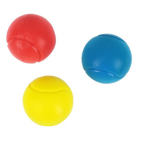 Set de 3 Balles de Tennis en Mousse