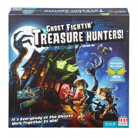 MATTEL - Treasure Hunters