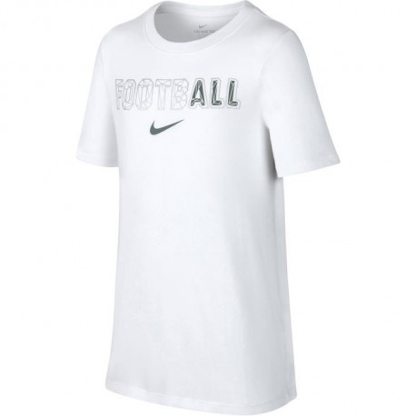 NIKE Maillot de football Dry All - Enfant garçon - Blanc