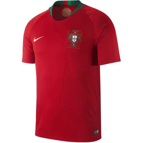 NIKE Maillot de Football Domicile FPF Portugal - Homme - Rouge