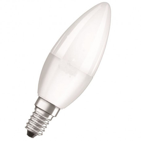 OSRAM Ampoule LED Star + Active&Relax E14 flamme 5 W équivalent a 40 W blanc chaud ou froid