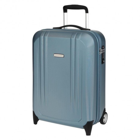 RV RONCATO Valise Cabine Rigide Polycarbonate 2 Roues 55 cm DISCOVERY Bleu